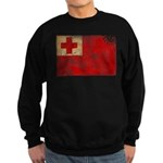 Tonga Flag Sweatshirt (dark)