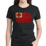 Tonga Flag Women's Dark T-Shirt