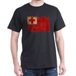 Tonga Flag Dark T-Shirt
