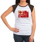 Tonga Flag Women's Cap Sleeve T-Shirt