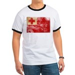 Tonga Flag Ringer T