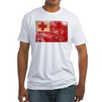 Tonga Flag Fitted T-Shirt