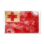 Tonga Flag Car Magnet 20 x 12