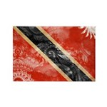 Trinidad and Tobago Flag Rectangle Magnet (10 pack