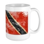 Trinidad and Tobago Flag Large Mug