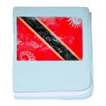 Trinidad and Tobago Flag baby blanket