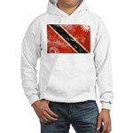 Trinidad and Tobago Flag Hooded Sweatshirt