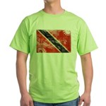 Trinidad and Tobago Flag Green T-Shirt