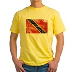 Trinidad and Tobago Flag Yellow T-Shirt