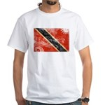 Trinidad and Tobago Flag White T-Shirt