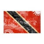 Trinidad and Tobago Flag 38.5 x 24.5 Wall Peel