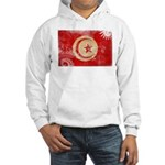 Tunisia Flag Hooded Sweatshirt