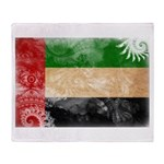 United Arab Emirates Flag Throw Blanket