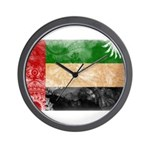 United Arab Emirates Flag Wall Clock