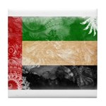 United Arab Emirates Flag Tile Coaster