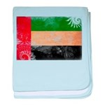 United Arab Emirates Flag baby blanket