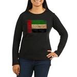United Arab Emirates Flag Women's Long Sleeve Dark