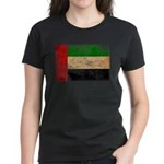 United Arab Emirates Flag Women's Dark T-Shirt
