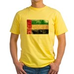 United Arab Emirates Flag Yellow T-Shirt