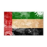 United Arab Emirates Flag 22x14 Wall Peel