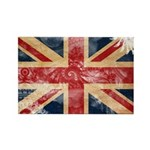 United Kingdom Flag Rectangle Magnet (10 pack)