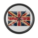 United Kingdom Flag Large Wall Clock