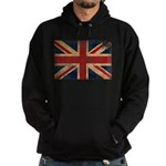 United Kingdom Flag Hoodie (dark)