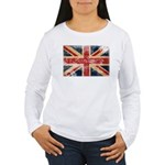 United Kingdom Flag Women's Long Sleeve T-Shirt