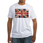 United Kingdom Flag Fitted T-Shirt