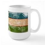 Uzbekistan Flag Large Mug