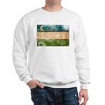 Uzbekistan Flag Sweatshirt