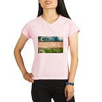 Uzbekistan Flag Performance Dry T-Shirt