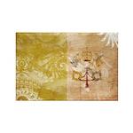 Vatican City Flag Rectangle Magnet (100 pack)