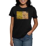 Vatican City Flag Women's Dark T-Shirt