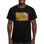 Vatican City Flag Men's Fitted T-Shirt (dark)