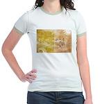 Vatican City Flag Jr. Ringer T-Shirt