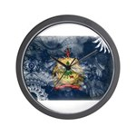 Vermont Flag Wall Clock