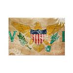 Virgin Islands Flag Rectangle Magnet (10 pack)