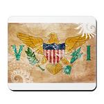 Virgin Islands Flag Mousepad