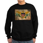 Virgin Islands Flag Sweatshirt (dark)