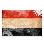 Yemen Flag Postcards (Package of 8)