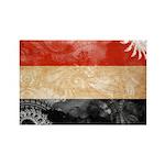 Yemen Flag Rectangle Magnet (100 pack)