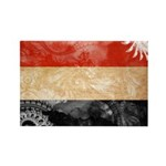 Yemen Flag Rectangle Magnet