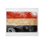 Yemen Flag Throw Blanket