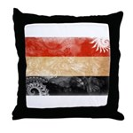 Yemen Flag Throw Pillow