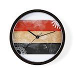Yemen Flag Wall Clock