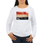 Yemen Flag Women's Long Sleeve T-Shirt