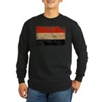 Yemen Flag Long Sleeve Dark T-Shirt