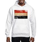 Yemen Flag Hooded Sweatshirt