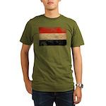 Yemen Flag Organic Men's T-Shirt (dark)